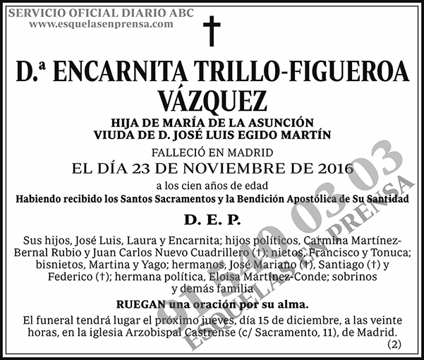 Encarnita Trillo-Figueroa Vázquez